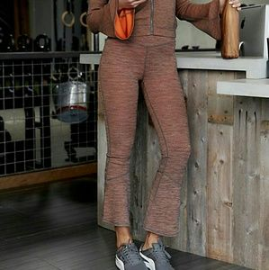 NWT Free People High Rise Off The Grid Leggings